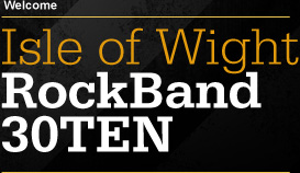 Isle of Wight Rock Band 30TEN